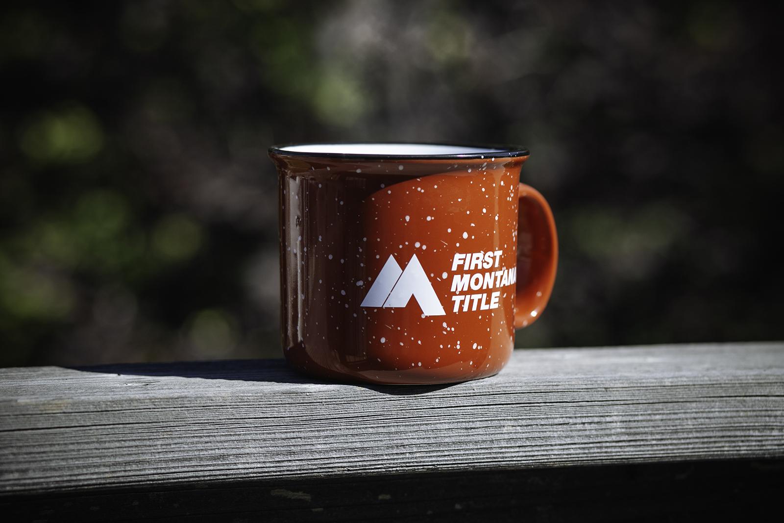 First Montana Title Camping Mug